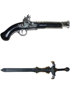 Meče, Pištole, Zbrane