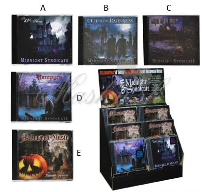 CD halloween hudba 74635