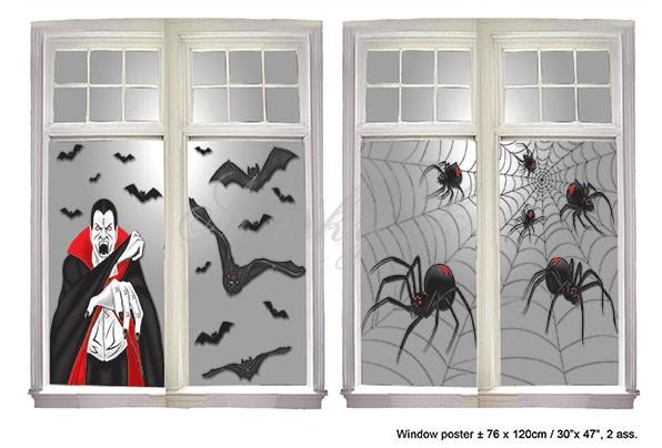 Dekorácia na okno Halloween 74630