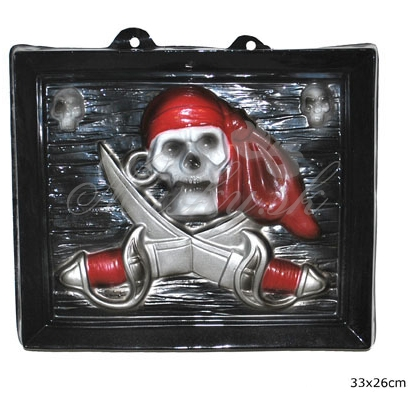 Dekorácia na stenu pirátska 50027