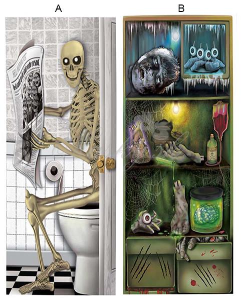 Dekorácia na wc a chladničku 19423