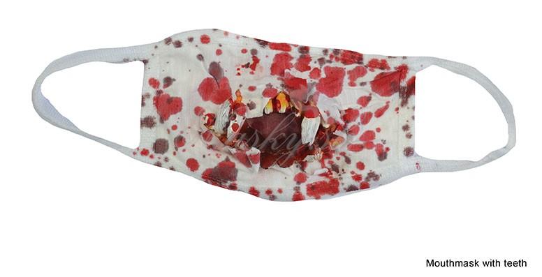 Doktorské krvavé rúško 74770