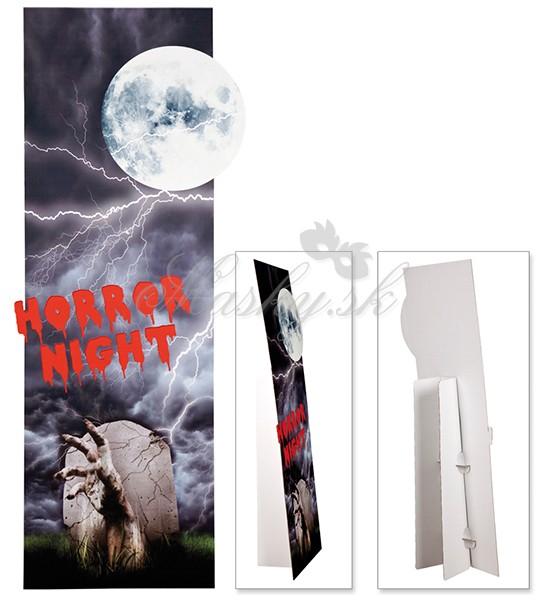 Kartónová dekorácia Horror night 76955