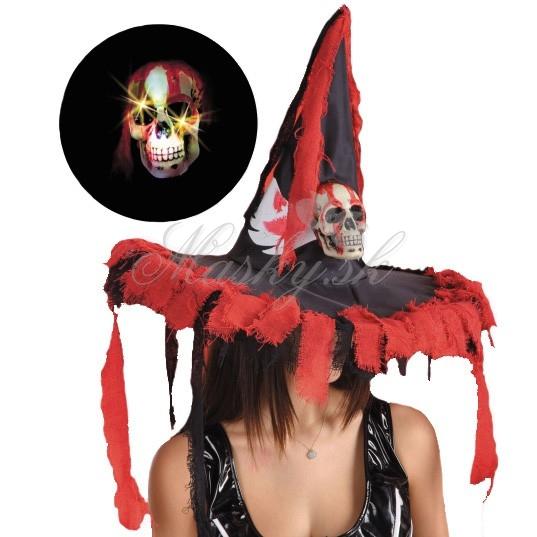 Klobúk čarodejnícky Halloween 5746