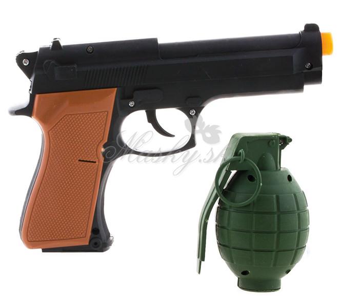 Pištoľ a granát 51085