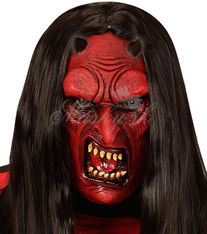 Maska detská diabol 00614